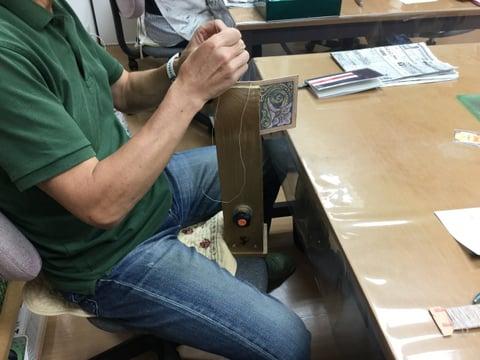 手縫い仕立て レザークラフト教室 革工芸教室