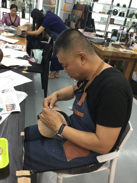 立体造形講習会 組み立て レザークラフト 教室 革工芸教室