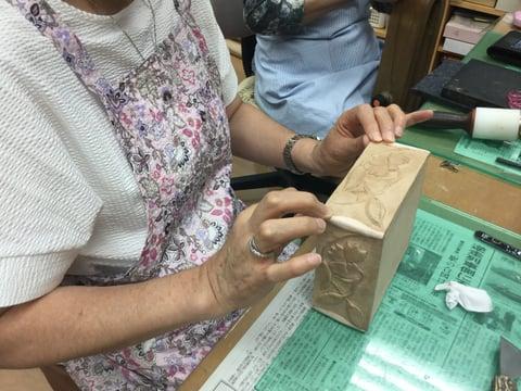 革のボックス レザークラフト教室 革工芸教室