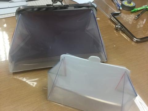 がま口サンプル レザークラフト教室 革工芸教室