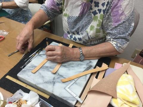 小物作り レザークラフト教室 革工芸教室