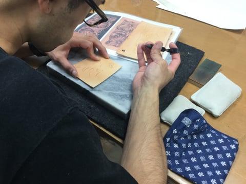 シェリダンカービング レザークラフト教室 革工芸教室