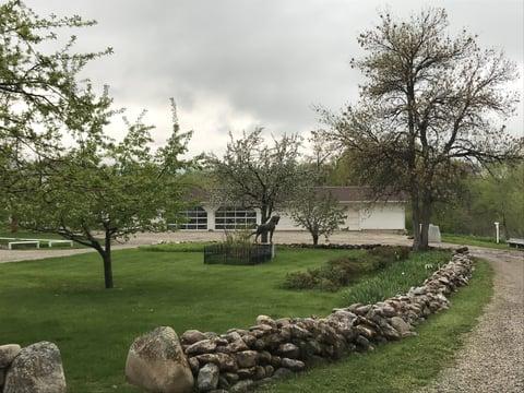ブリントン美術館の周辺 レザークラフト教室 革工芸教室