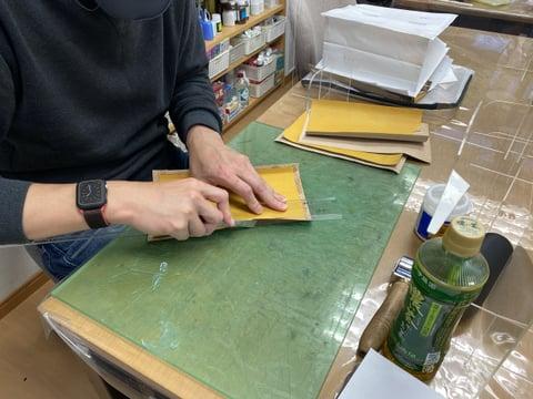 ダレスバッグ レザークラフト教室 革工芸教室