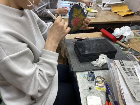 コインボックス  レザークラフト教室 革工芸教室