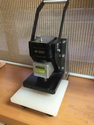 レザークラフト ハンドプレス機