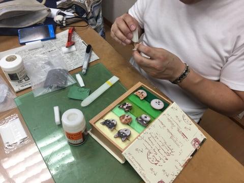 レザーの指輪 レザークラフト教室 革工芸教室