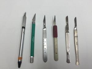 レザークラフト フィリグリーナイフ