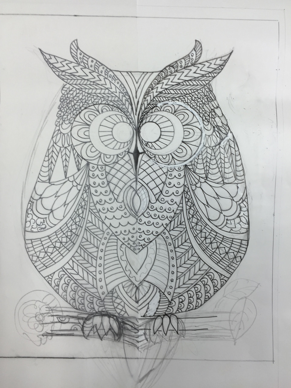 Zentangle Patterns はまってます。