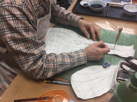 立体造形のデザイン レザークラフト教室 革工芸教室