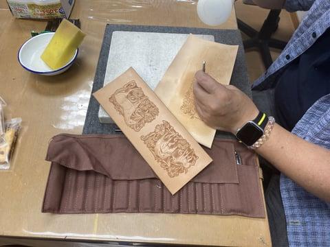 フィギュアカービング(馬) レザークラフト教室 革工芸教室
