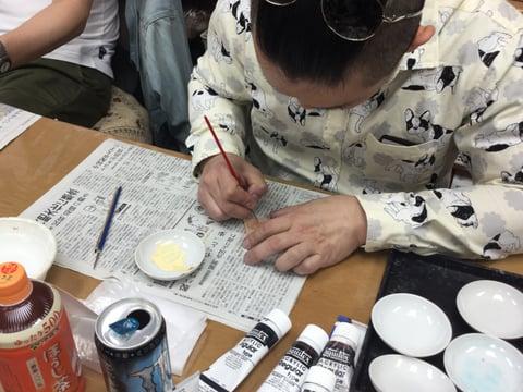 革の指輪 レザークラフト教室 革工芸教室