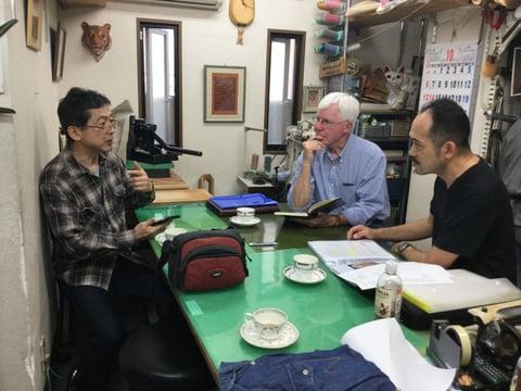 2021『北アメリカと日本のマスターカービング展』の取材沼津 レザークラフト教室 革工芸教室