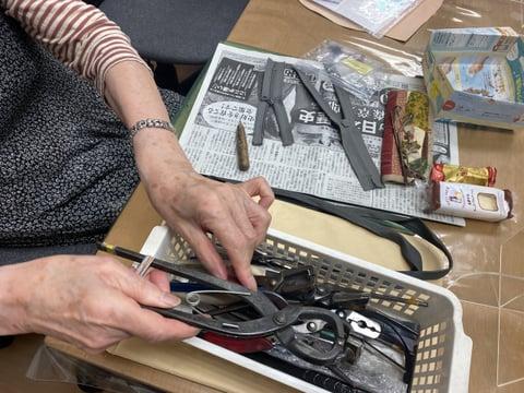 ファスナーづくり レザークラフト教室 革工芸教室