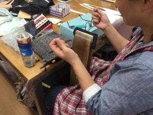 レザークラフト 木曜クラス 手縫い