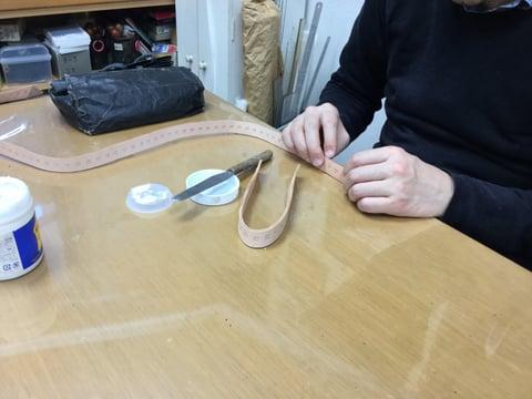 リード作り レザークラフト教室 革工芸教室