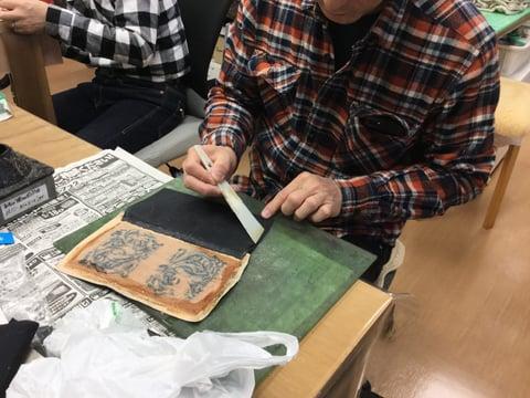 財布仕立て レザークラフト教室 革工芸教室