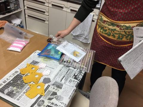 干支の制作 レザークラフト教室 革工芸教室