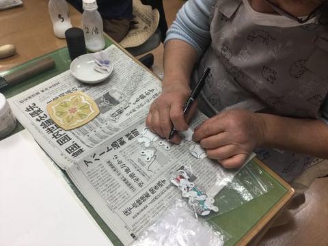 干支のストラップ レザークラフト教室 革工芸教室