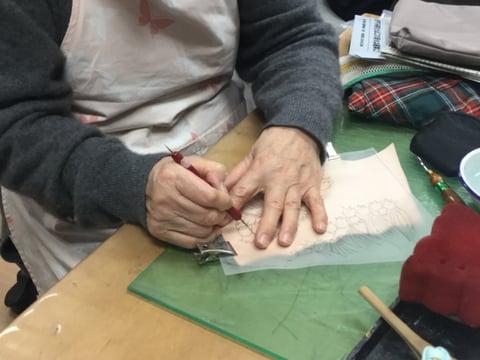 リュックポケット レザークラフト教室 革工芸教室