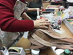 立体造形 レザークラフト教室 革工芸教室