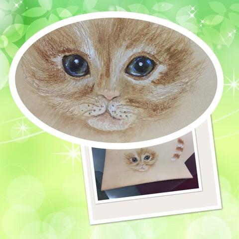 フィギャアカービング猫 レザークラフト教室 革工芸教室