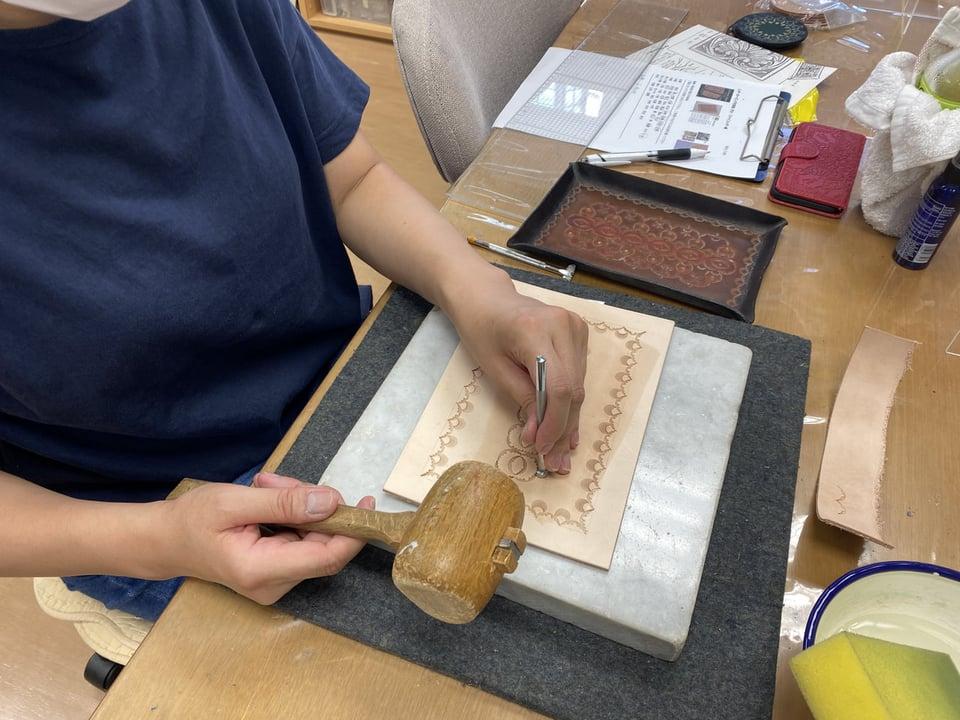 革のペントレー レザークラフト教室 革工芸教室