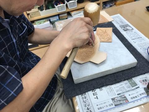 初等科カリキュラム レザークラフト教室 革工芸教室