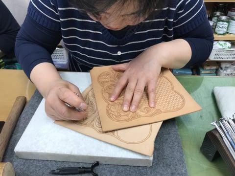 シェリダンスタイル レザークラフト教室 革工芸教室