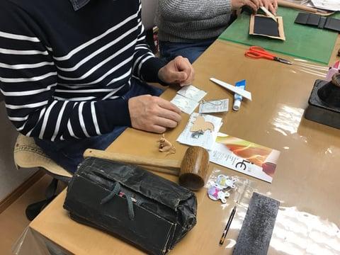 干支のストラップ レザークラフ 教室 革工芸教室
