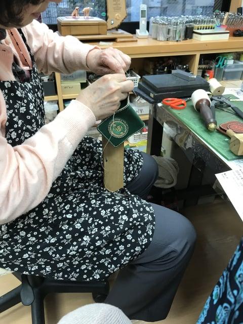 手縫い レザークラフト 教室 革工芸教室