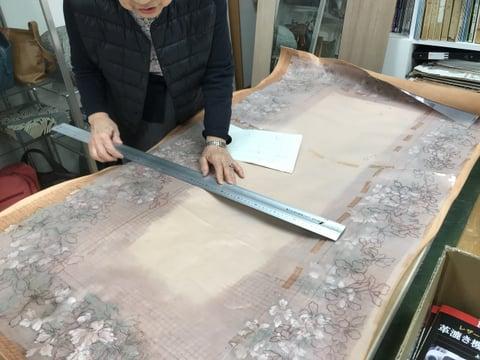 鏡 レザークラフト教室 革工芸教室