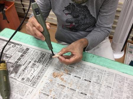 ペンサンダー レザークラフト教室 革工芸教室