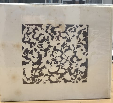 金唐革の本表紙 レザークラフト教室 革工芸教室
