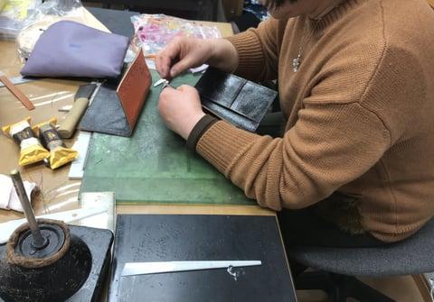 携帯ケース レザークラフト 教室 革工芸教室