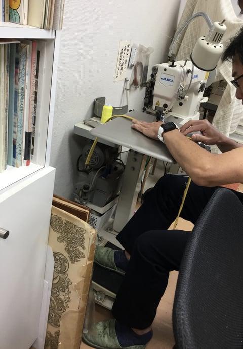初めてのミシン レザークラフト教室 革工芸教室