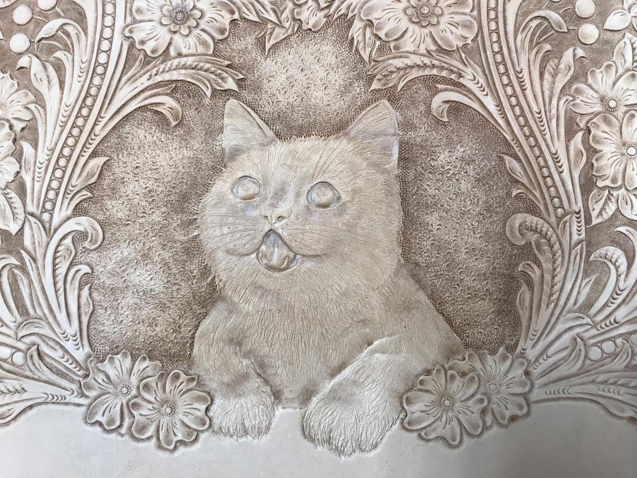 フィギャアカービング(子猫)カービング編