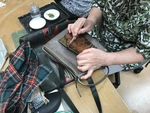 バッグ修理 レザークラフト教室 革工芸教室