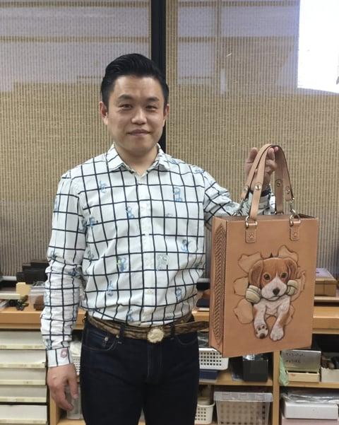 東正人さん レザークラフト教室 革工芸教室