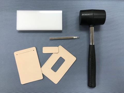 初めてのレザークラフト道具  レザークラフト教室 革工芸教室