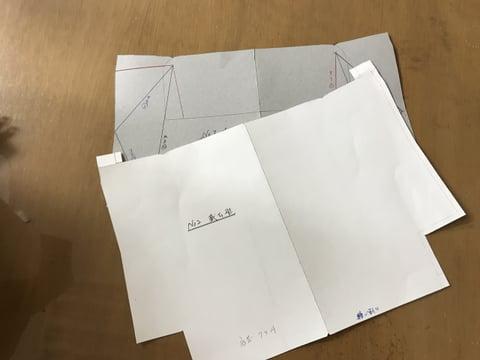 型紙講座 がま口パート3型紙 レザークラフト教室 革工芸教室