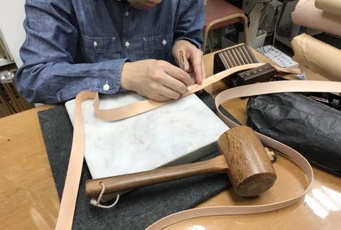 リードスタンピング レザークラフト教室 革工芸教室