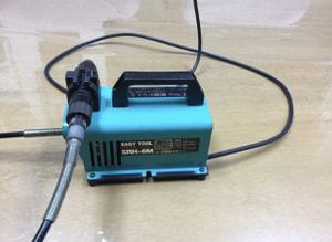 リューター背面 レザークラフト教室 革工芸教室