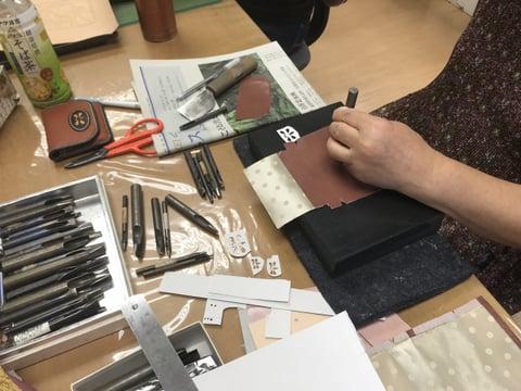 シェイブパンチ レザークラフト教室 革工芸教室