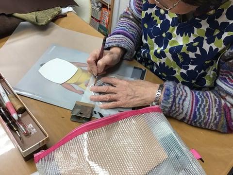ワポイトカービグ レザークラフト教室 革工芸教室