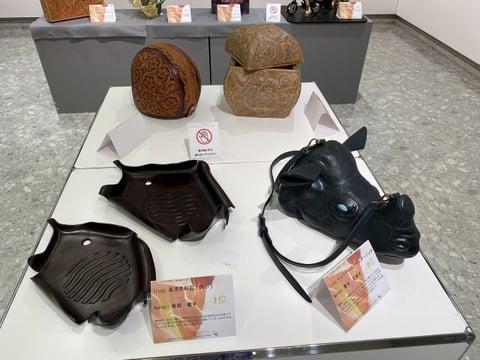 ILCE展示風景3 レザークラフト教室 革工芸教室