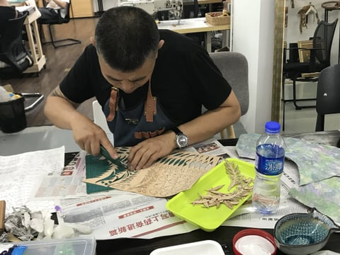 立体造形講習会 レザークラフト 教室 革工芸教室